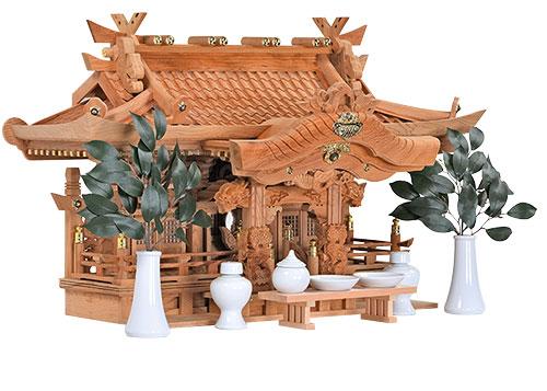 屋久杉三社 側面2