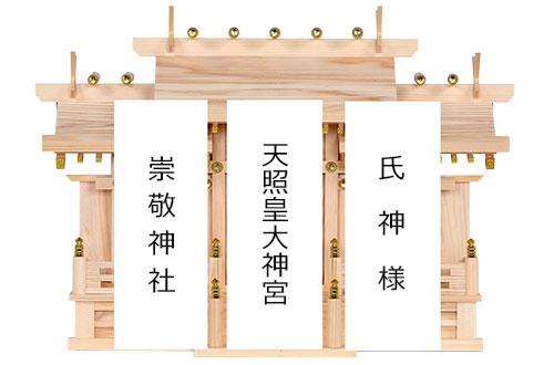 桧三社中B 扉札名1