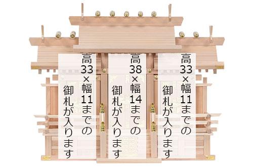 木曽桧三社(中)_札寸法1