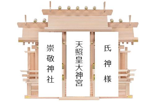 木曽桧三社(中)_札名1