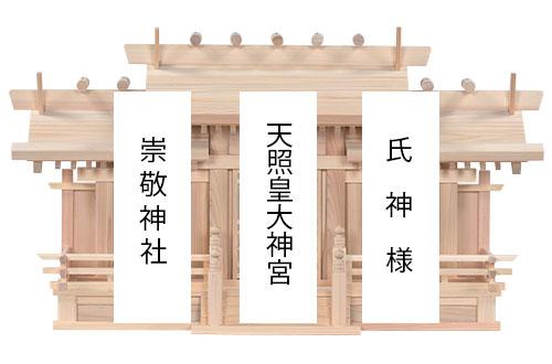 唐戸三社(大)札名1