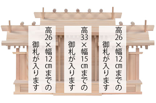 唐戸三社(大)札寸法1